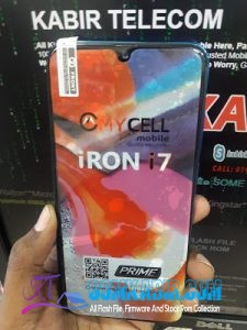 Mycell Iron I7 Flash file Download