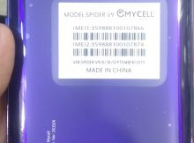 Mycell Spider V9 Flash File Firmware Tested