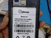 Gphone A7 Flash File 100% Tested Firmware