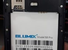 Blumix S9 Pro Flash File 100% Tested Firmware