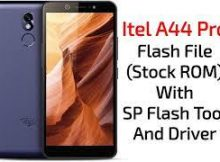 Itel A44 Pro Flash File 100% Tested Firmware