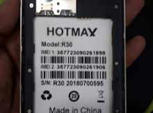 Hotmax R30 Flash File 100% Tested Firmware